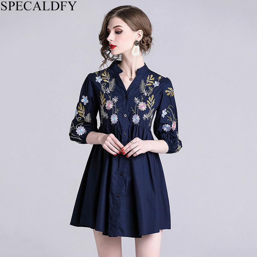 4ed964e951117 2019 Ethnic Floral Embroidery Blouse Vintage Tops Womens Tops And Blouses  High Quality Fashion Plus Size Shirt Camisa Feminina Canada 2019 From  Finegarment
