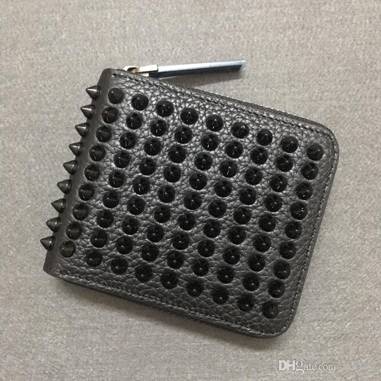 Carteras de alta calidad Bolsas de estilo de Plaid de París Diseñador para hombre y mujer Wallet Diseñador de gama alta de cuero de marca con caja