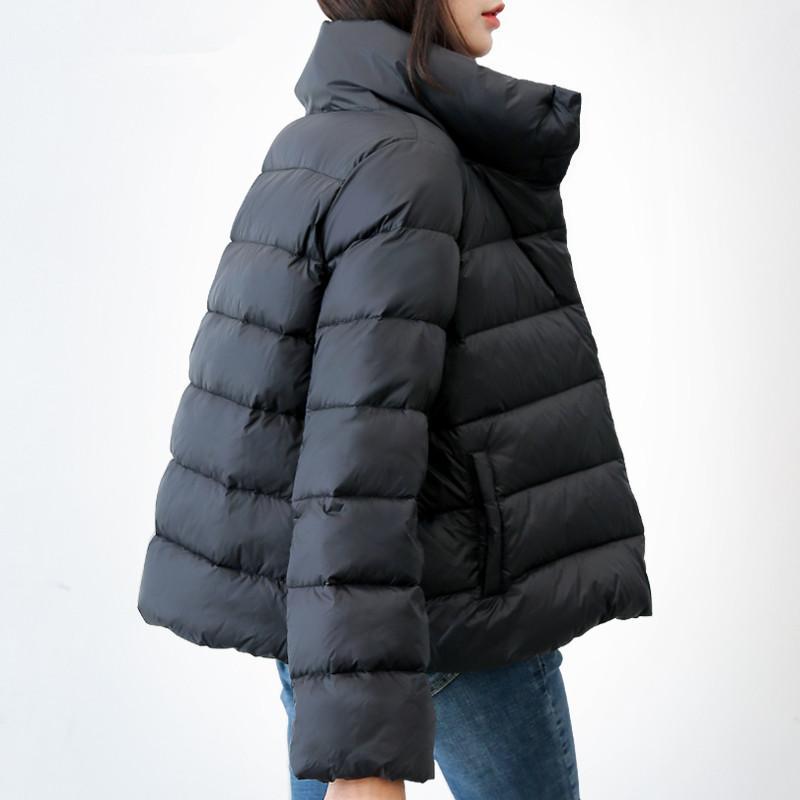 super popular 68d18 4a0ab Fashion-2019 New Autunno Inverno Piumino Donna Parka Piumino ultraleggero  Donna Giacca calda sottile Donna PP096