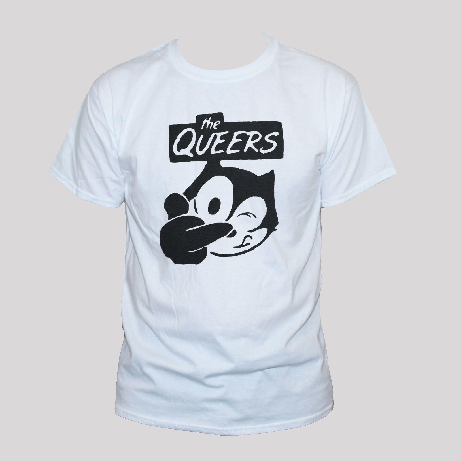 9a1bddf86 Compre The Queers Camiseta Punk Rock Ramones Teen Idols Banda Gráfica  Camiseta S M L Xl Xxl A  24.2 Del Aringstore