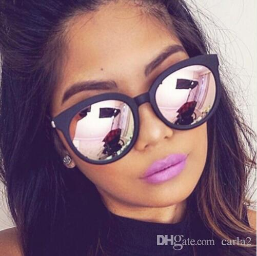 Pour Mode Miroir Revêtement Nuances Marque Carré Chat Rose Soleil Oculos Oeil Femme De Lunettes Femmes ImfY7y6gbv