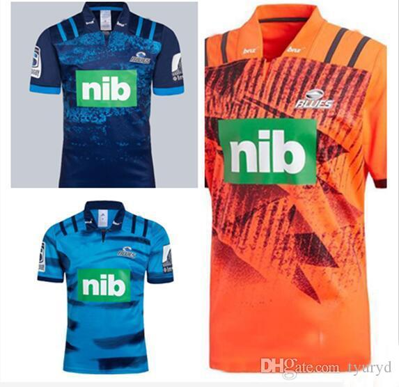 7b52c06f9 2019 News Blues Super Rugby Training Jersey 2018 2019 Rugby Jerseys NRL  National Rugby League Shirt Nrl Jersey New Zealand Blues Shirts S 3xl From  Tyuryd, ...