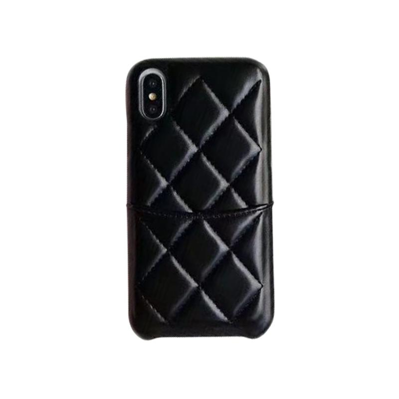 competitive price 0a6ce 3dbc1 One Piece Fashion Chic Designer Phone Cases For iPhone 6 S 7 8 Plus X XS  Max XR PU Leather Back Cover Case free DHL