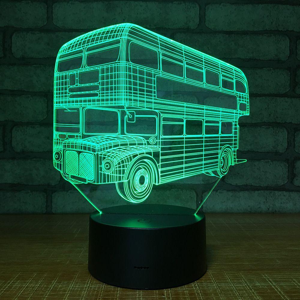 Originality Petite Cadeau Veilleuse Électronique Vision Personnalisé Automobile Produit Amazon Usb Lampe 1478 3d Led NnwvOmy80