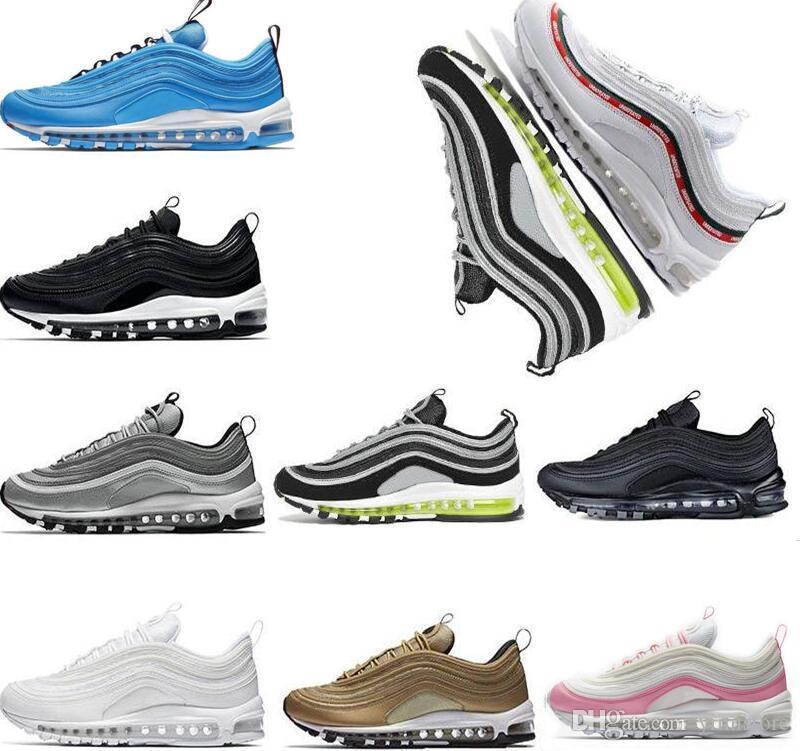 wholesale dealer 082a8 abcb3 2019 97 OG X Undftd Black Speed DS Uomo Scarpe da corsa Donna Sneakers  Sneaker Uomo Scarpe sportive Eur 45 US 11 Tripel Bianco Nero