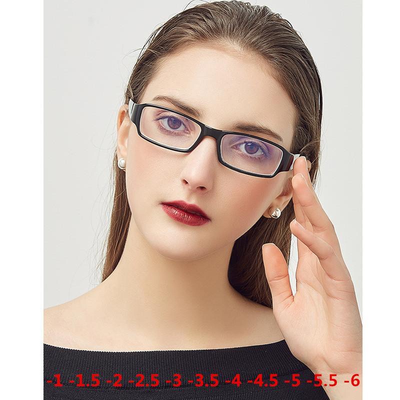 0356a4d1d22 2019 1.0 To 6.0 Myopia Eyeglasses 2018 Hot Men Women Coating Anti Radiation  Lens Prescription Optical Eye Glasses Frames From Marquesechriss