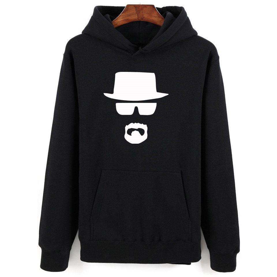 2019 Heisenberg Hoodies Menwomen New Fashion Cotton Men's Hoodies And Sweatshirt Heisenberg With Hip Hop Style Hoodies Clothes