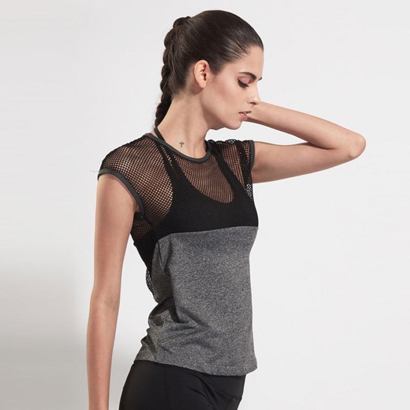 3abfb2c917 2019 2019 Women T Shirts Short Sleeve O Neck Yoga Tank Tops Women ...