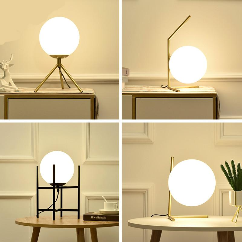 LED modern floor lamp lamp bedroom glass office living room wall lamp  lighting