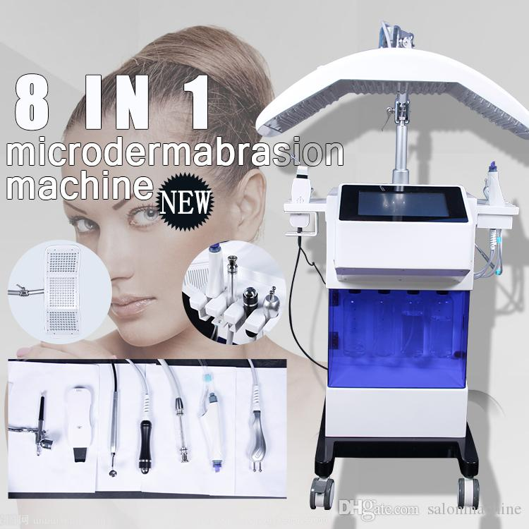 Hydro Facial Diamant Dermabrasion Maschine Dark Circles Entfernung Hydra Beauty Machines Haut Peeling Hautreinigung Beauty Equipment