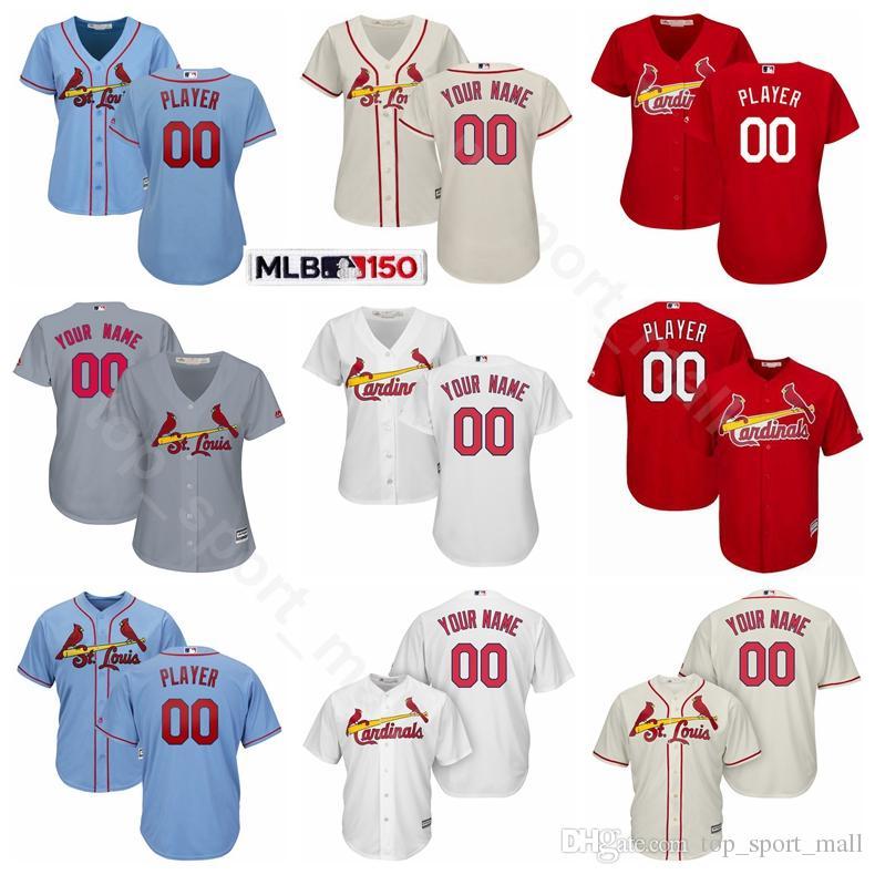 on sale 396b7 40543 Man Woman Youth Cardinals Jersey Baseball Paul DeJong Yadier Molina Kolten  Wong Harrison Bader Ozzie Smith Bob Gibson Dexter Fowler