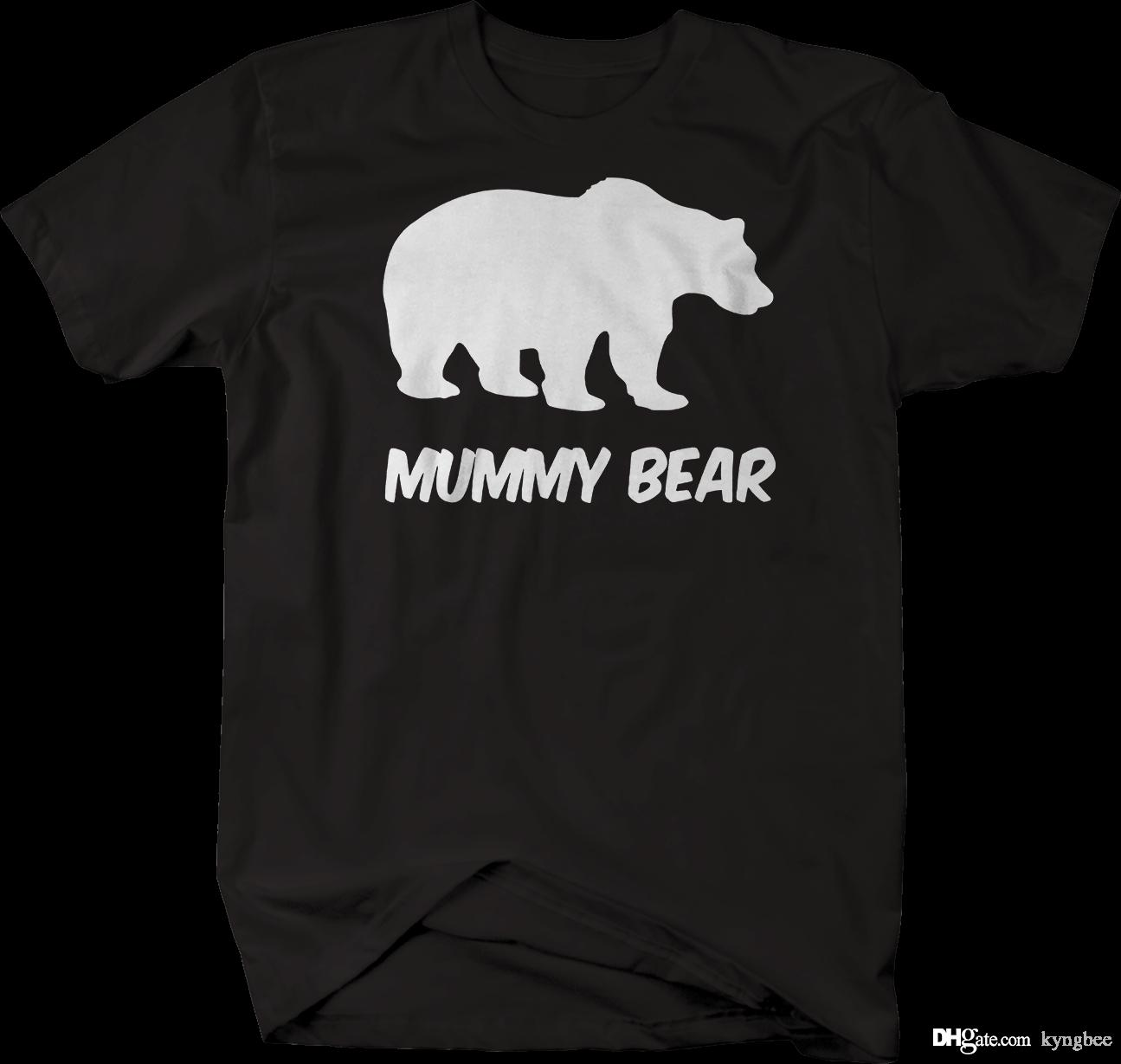 e9a6d9dd Mummy Bear Protective Mom Polar Grizzly Bear Tshirt Tee Shirt Shop Online  One T Shirt A Day From Kyngbee, $10.72| DHgate.Com