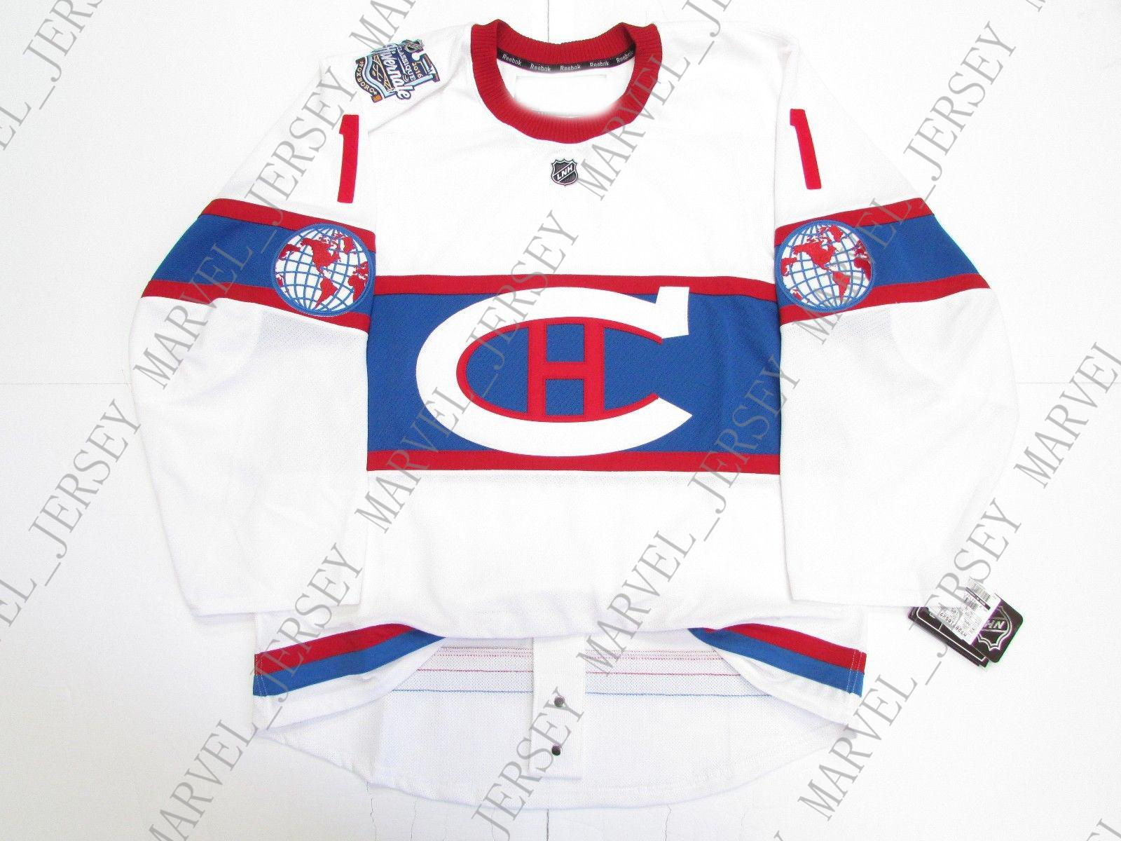 competitive price 1004b 0b892 Cheap custom YOUNG MONTREAL CANADIENS 2016 WINTER CLASSIC JERSEY stitch add  any number any name Mens Hockey Jersey XS-5XL