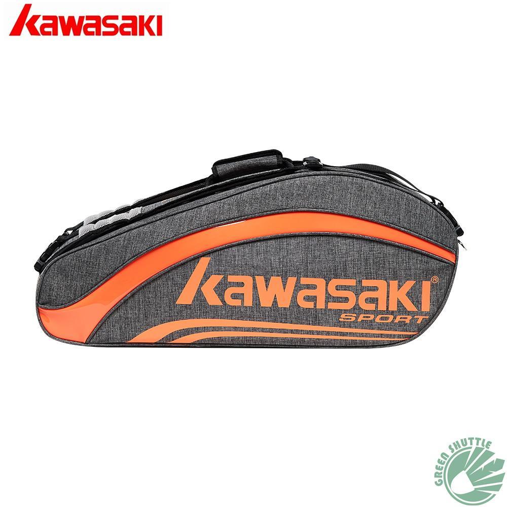 3c1dcebae Compre 2018 Professional A Grande Capacidade KBB 8652 Kawasaki Saco De  Raquete De Badminton À Prova D  Água Para 6 Saco De Raquetes Transporte  Rápido De ...