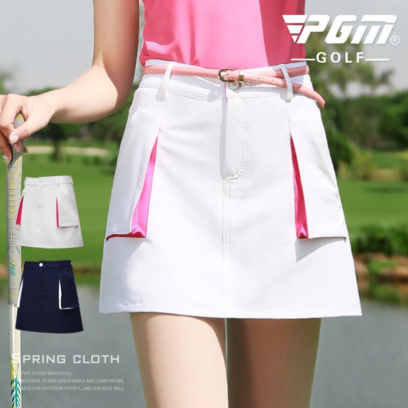 b8cf142b58 2019 Pgm Pocket Tennis Shorts Women Skirts Anti Light Quick Dry Badminton  Skirt Ladies Tennis Cycling Golf Skirts Hot Sale AA60477 From Yangmeijune,  ...