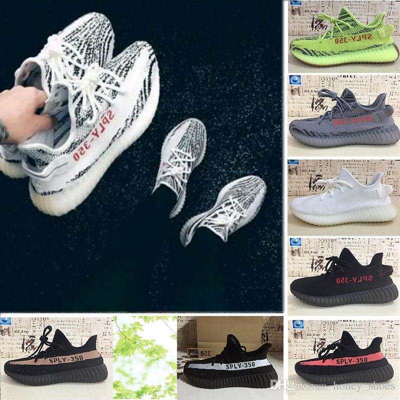 separation shoes 217bc 54a12 Compre Adidas Yeezy Boost 350 700 V2 SPLY 350 V2 Estática Sésamo  Mantequilla Beluga 2.0 Tinte Azul Zebra Cream Blanco Kanye West Zapatos  Para Correr Para ...