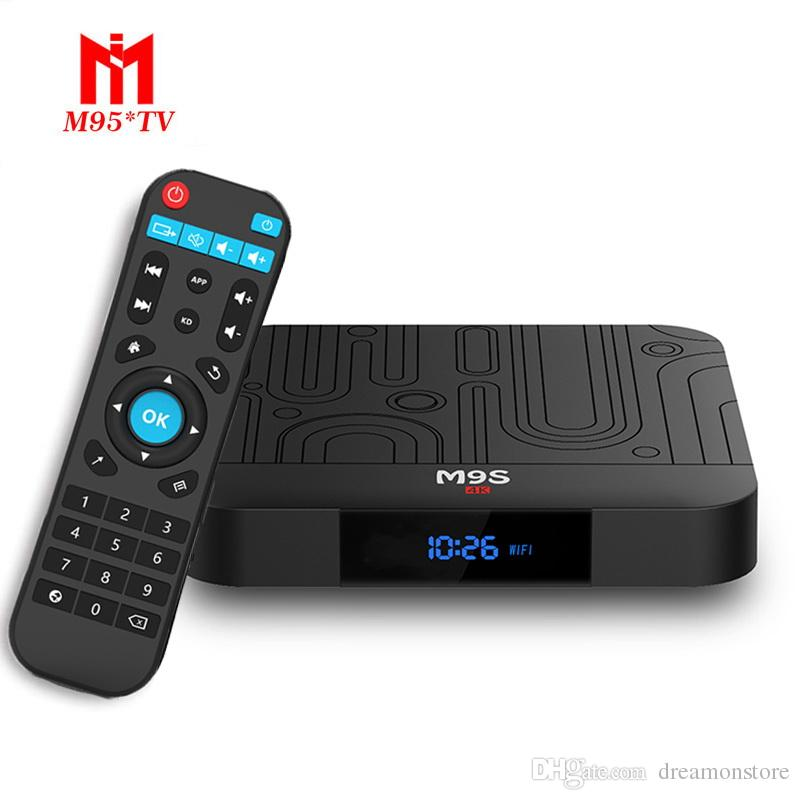 Amlogic S905W M9S W1 Android 7 1 TV Box Quad Core 2GB 16GB Smart Box WIFI  4K Media Player Better X96 TX3 H96 S905X2 T95Q S8 MAX S9 PRO