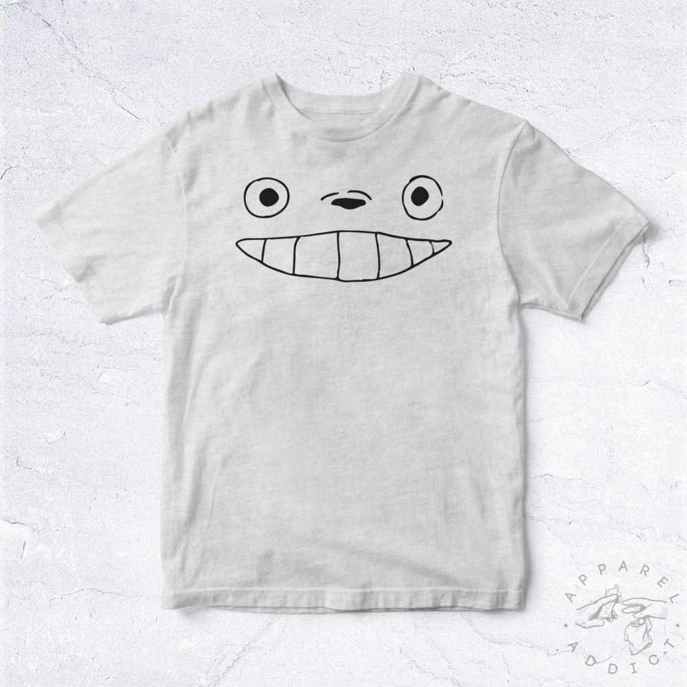 23d5af1d4c9ce NEW Tee Shirt Totoro Face BIO Cartoon Manga Japan Hayao Miyazaki Mon Voisin  CuteFunny free shipping Unisex Casual Tshirt