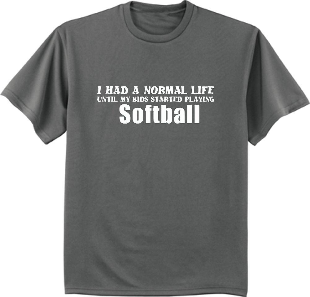 7a3ce98a1 Softball dad funny saying shirt fathers day gift for dad men's t-shirt 2018  Funny Tee ,Cute T shirts Man ,100% Cotton Cool ,