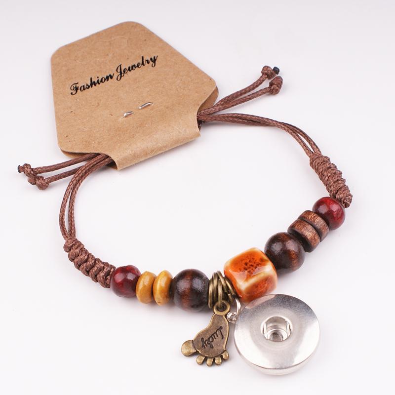 NUEVO 18mm 12mm angel LOVE botón a presión de joyería Shambhala charm bracelet para Mujeres NIÑAS MF235