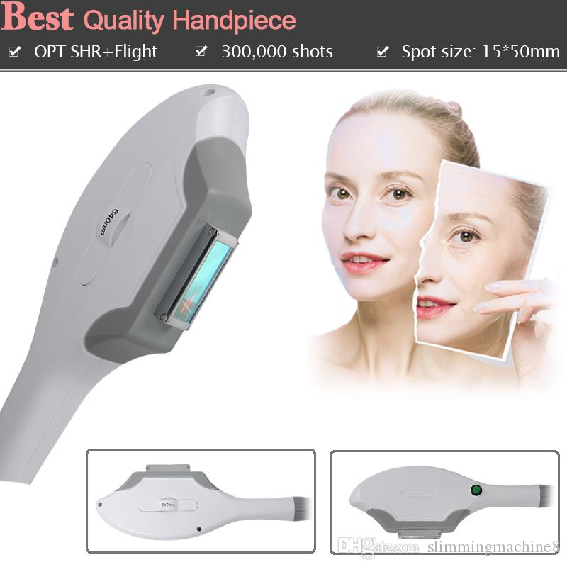 Elight Handle SHR + Elight IPL laser hair removal machine OPT SHR permanent hair removal machine no pain therapy