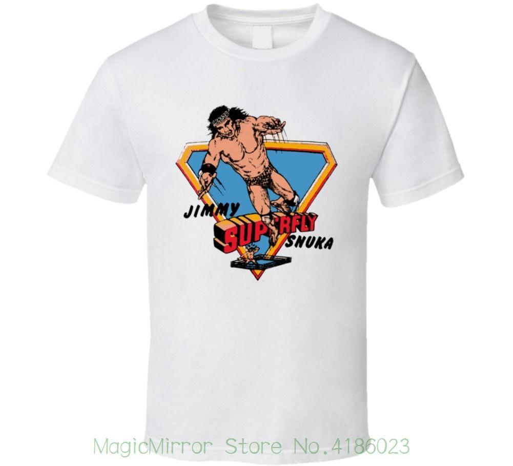 7545e7cd27 Jimmy Superfly Snuka Retro Wrestling T Shirt Streetwear Funny Print Clothing  Hip Tope Mans T Shirt Tops Tees Party T Shirts Collared T Shirts From  Jie11, ...