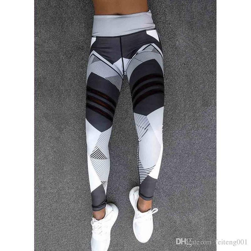 2 Colors Women Yoga Pants Sporting Leggings Clothing For Womens Fitness Quick Dry High Waist Leggins Fitness Workout Leggins #376952