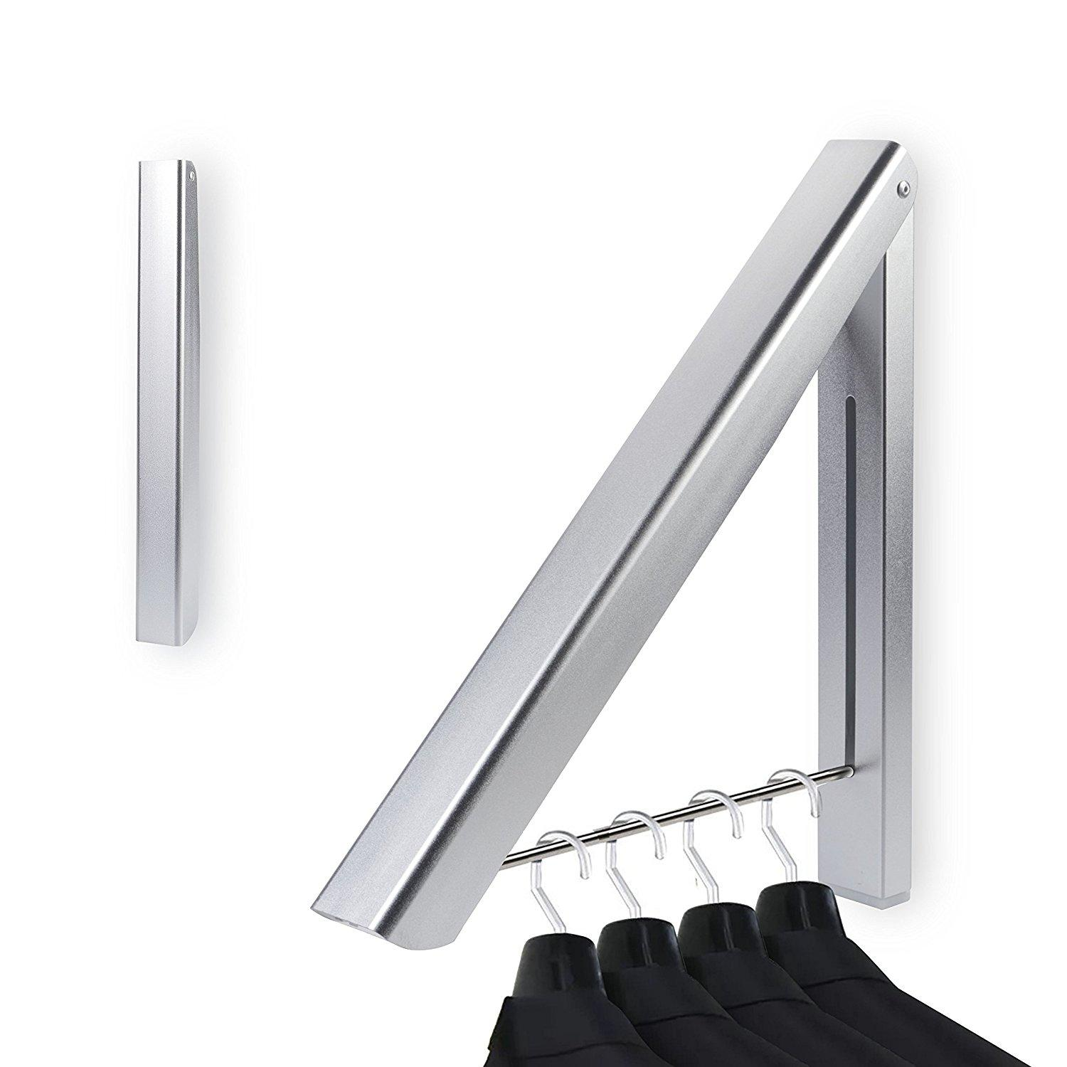 Black White Wall Hook Shelf Aluminum Bathroom Towel Holder Towel Rack Cloth Robe Hook Coat Hanger Balcony Accessories Etagere Without Return Bathroom Shelves