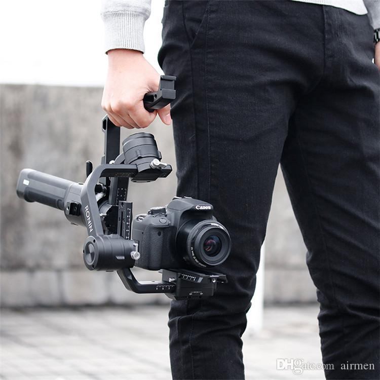 AgimbalGear Handle Grip Stabilizer Mount Extension Bracket Accessory Handle Grip For DJI Ronin-S Handheld Gimbal for ZHIYUN Crane 2 M Plus