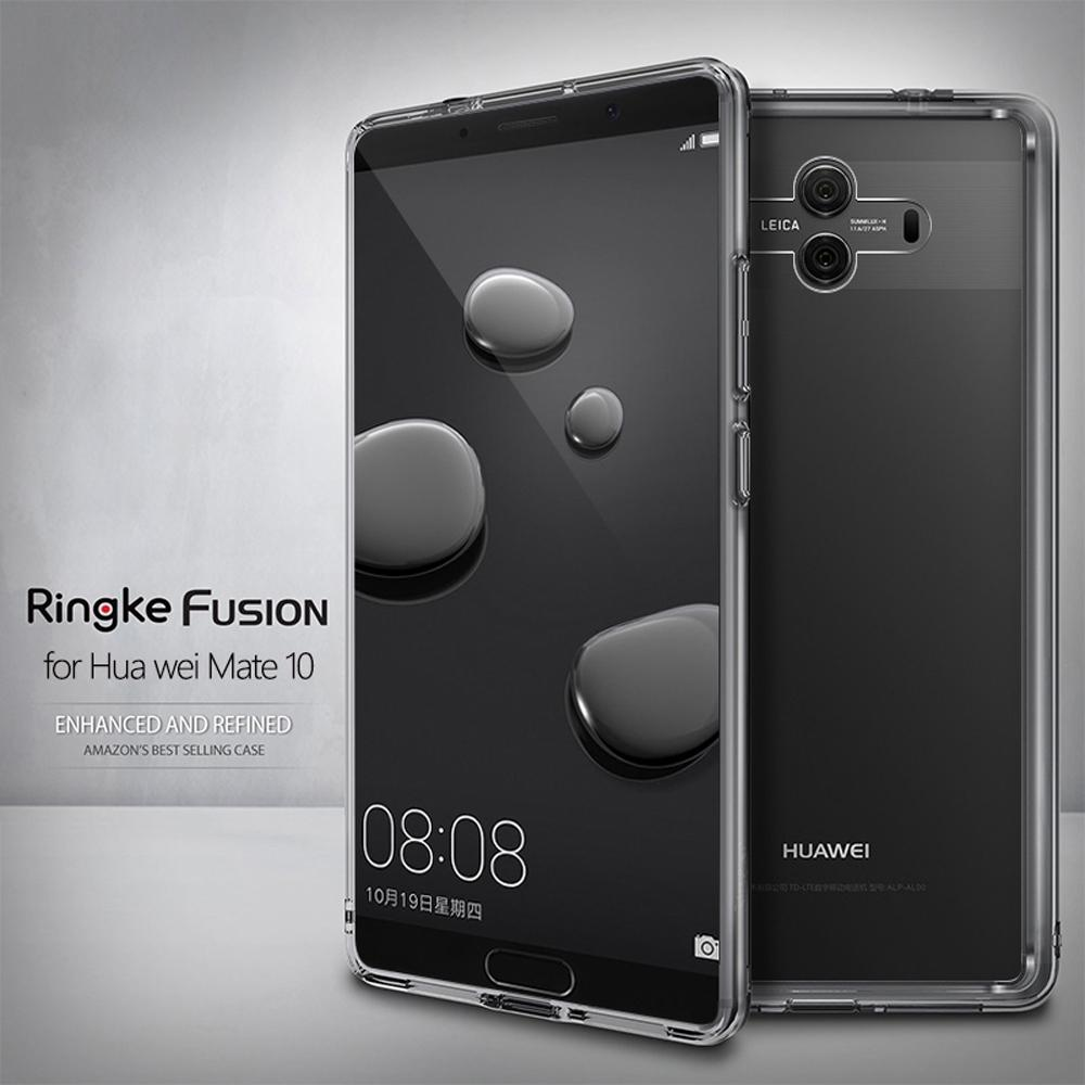 new product d0265 acc57 Ringke Fusion for Huawei Mate 10 Case Clear PC Back Cover Soft TPU Frame  Hybrid for Mate 10 Pro