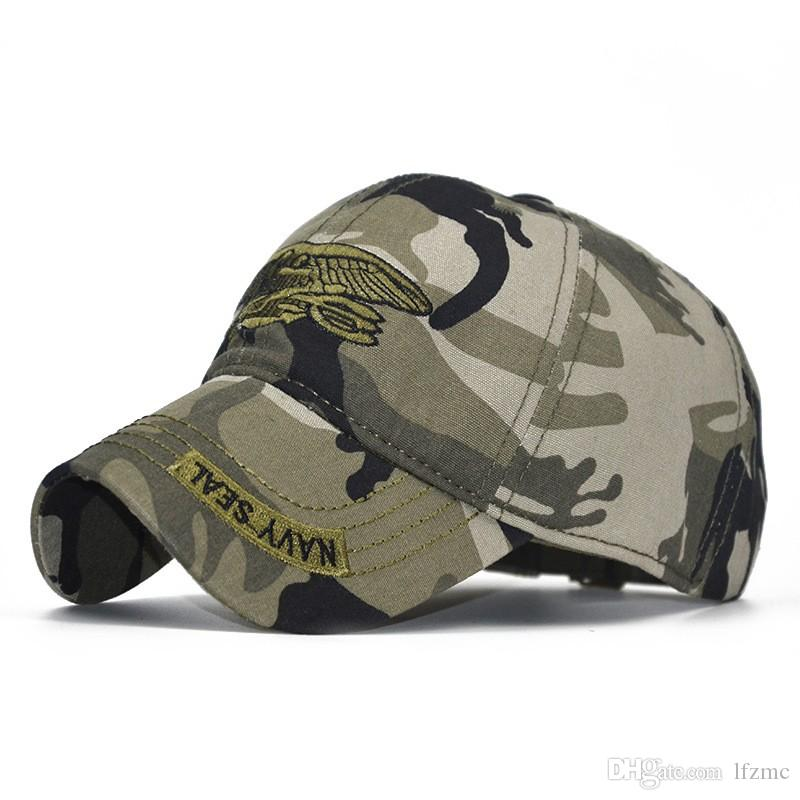 Cross-border Express Sales One Generation Camouflage Embroidered Baseball Hat, Hat, Men's Emblem, Cotton Hat Summer