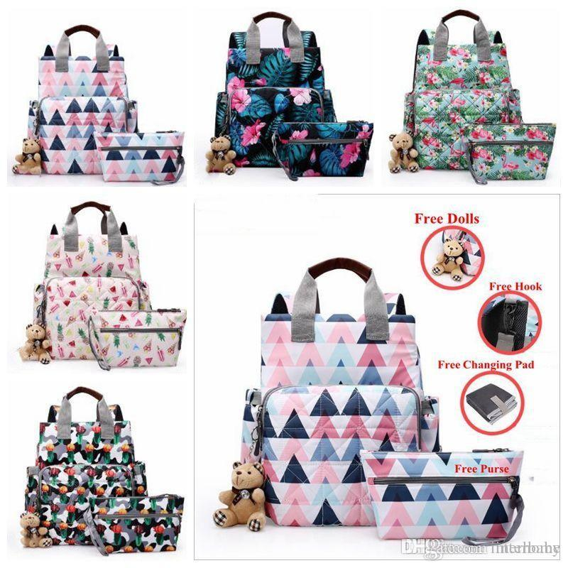 11833a73 Diaper Nappies Bags Mommy Maternity Backpacks Fashion Mother ...