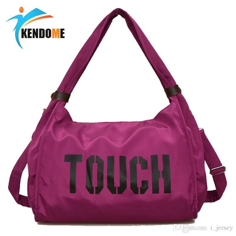 d43d1544b810 2019 Top Nylon Sports Gym Bag Outdoor Waterproof Women Travel Handbag  Fitness Bag For Men Shoulder Training Female Yoga Duffel  327757 From  I jersey