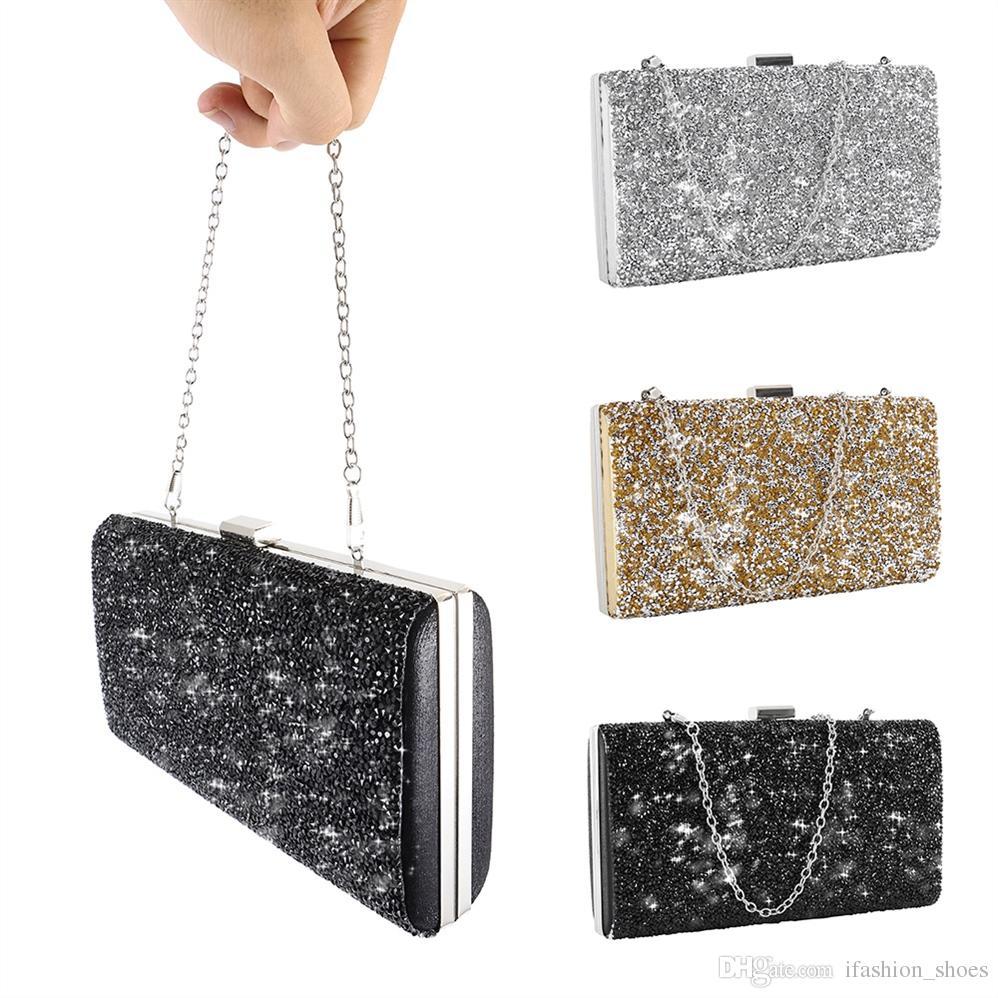 f3bf939d7770a Women Evening Clutch Luxury Handbag Diamond Rhinestone Crystal Day Glitter  Purse Wedding Party Banquet Bags For Women 2018 #33390 Hobo Bags Leather  Handbags ...