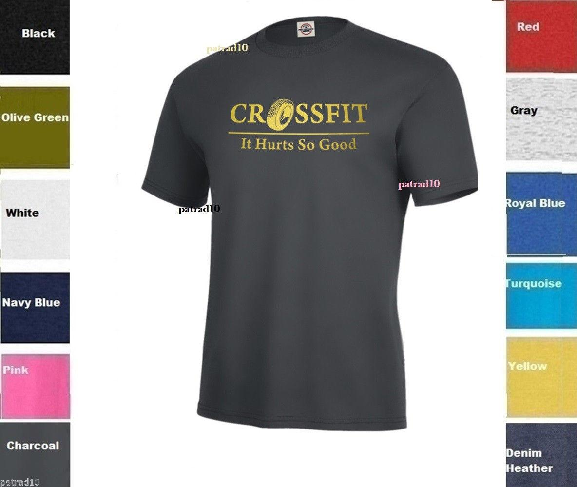 0e7649202 CROSSFIT Fitness Exercise T Shirt Training Gym Workout Army Shirt SZ S  5XLFunny Unisex Casual Tshirt Print T Shirt Slogan T Shirts From  Fandtheodore, ...
