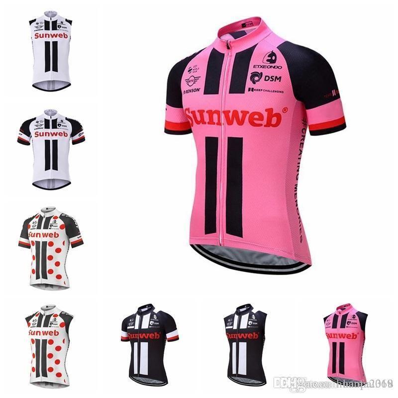 Sunweb Cycling Jerseys Short Sleeves Summer Cycling Shirts Cycling Clothes  Bike Wear Comfortable Breathable Hot New Jerseys H1406F Bike Shirt Bike T  Shirts ... 42eec8515