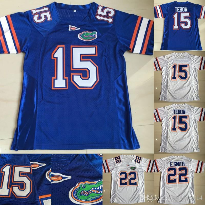 37a07247339 2019 Florida Gators Football Jerseys 15 Tim Tebow 22 Emmitt Smith College  Football Jerseys Size S To 3XL From Huohuo2014