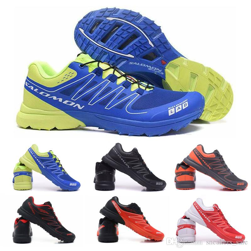 hot sale online 127db e2175 2019 2019 Salomon S Lab Sense M Running Sneakers Best Quality Mens Shoes  New Fashion Athletic Running Sports Outdoor Hiking Shoes Size 40 46 From ...