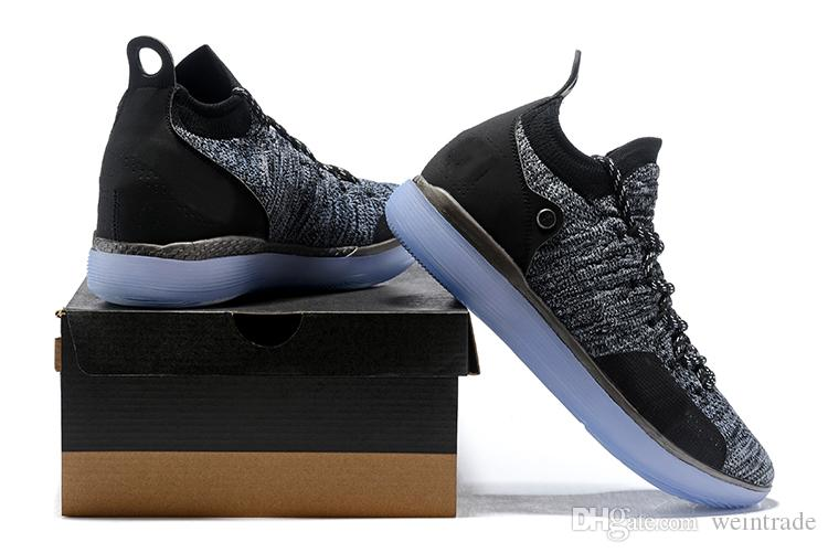 c22ff62e11e 2019 New Kevin Durant Kd Shoes Xi Black Twilight Oreo Multicolor Bhm  Designer Basketball 11 Shoes For Men Us Size 7 12 From Weintrade