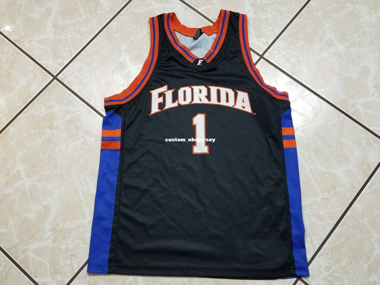 2aba7f1f9 2019 Cheap Custom Vintage FLORIDA GATORS Basketball Jersey Black Stitched  Customize Any Number Name MEN WOMEN YOUTH XS 5XL From Custom_nbajersey, ...