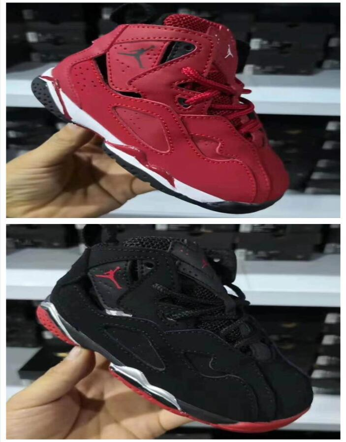d410b8f8d3d4ee New 7 Low Space Jam Kids Sports Basketball Shoes GS Children S 7s Heiress  Suede Maroon Bred 11s Sneakers Shoes Kids Kids Sneakers Cheap From  Sports shoes92
