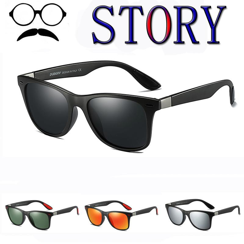 27930640a59 Polarized Sunglasses Men Women Coating Rivets Driving Square Frame ...