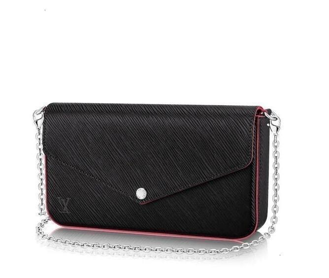 2019 Pochette Felicie M64579 New Women Fashion Shows Exotic Leather Bags Iconic Bags Clutches Evening Chain Wallets Purse