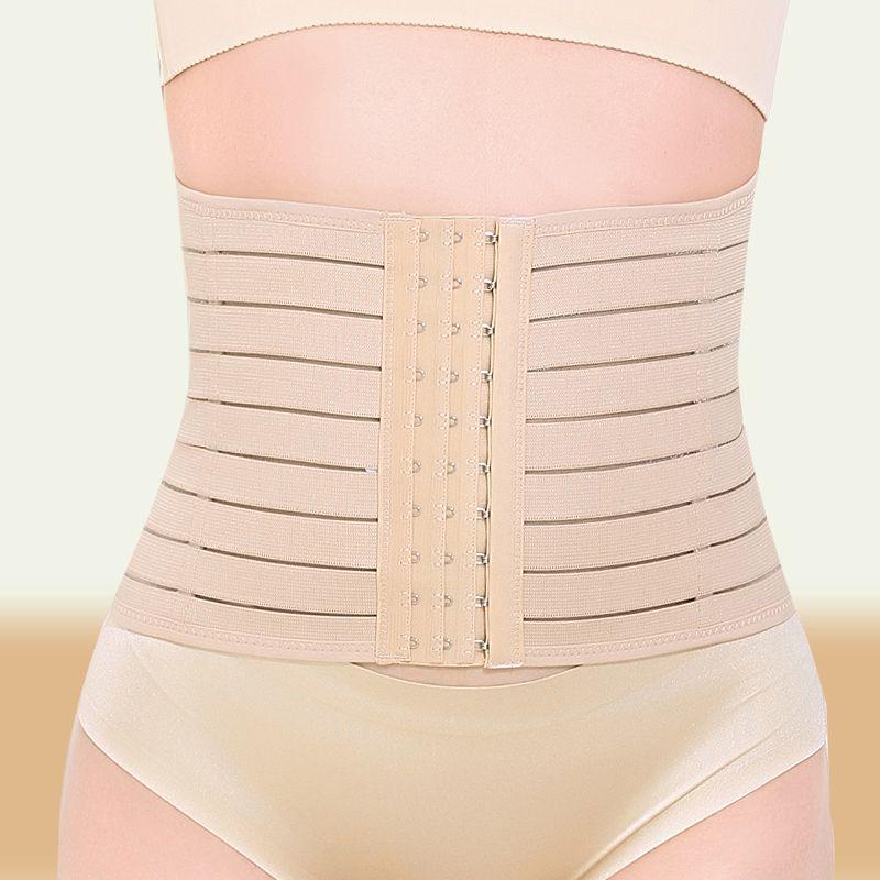 6bc084a02cdd3 Waist Trainer Body Shaper Cincher Belt Modeling Strap Overbust Corset Women  Slimming Shaper Postpartum Girdle Tummy Shaper Belt Online with   51.61 Piece on ...