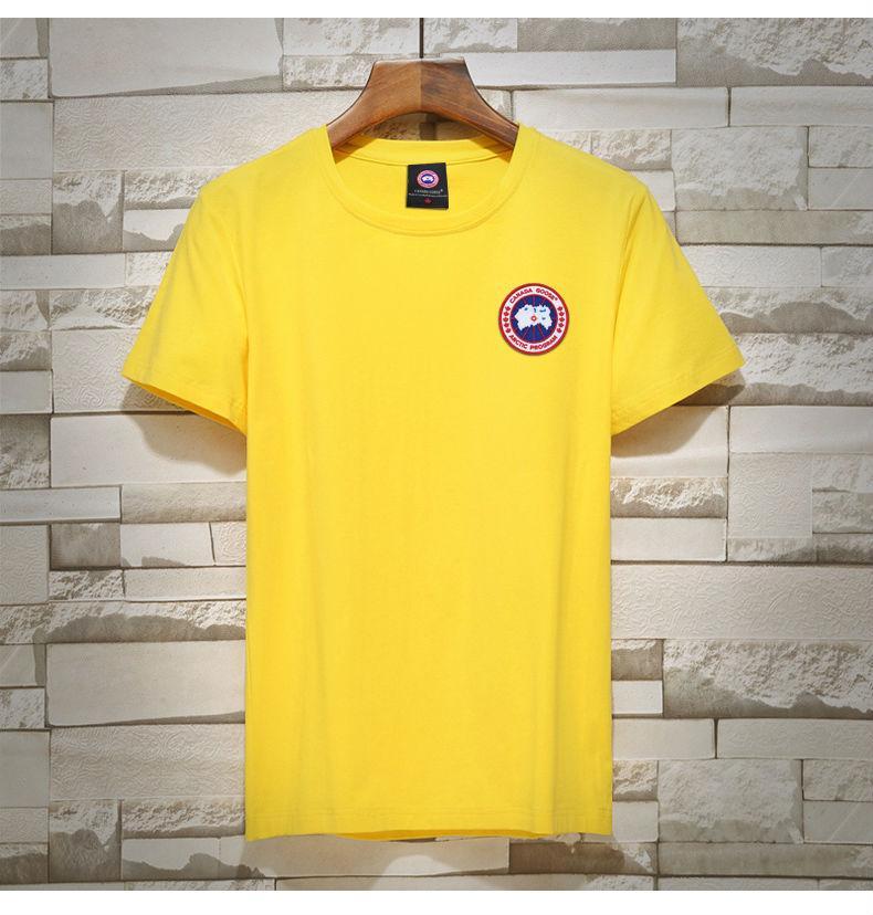 5207ce0b8db02 2019 New Fashion T Shirts Men High Quality 100% Cotton Summer Style Short  Sleeve Tee Tshirts Brands Men's Clothing