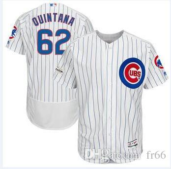 new product 6bf0e 26738 2019 World Series Champion Chicago Cubs 62 Jose Quintana 71 Wade Davis  Baseball Jerseys Custom Sports factory mlb Cheap Jersey Fashion 5xl