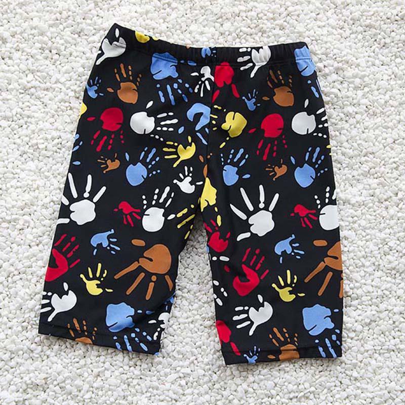 78ee7f7889 2019 Boys Swim Trunks For 3 12Y Kids Knee Length Shorts Swim Beach Wear  Fifth Pants Cartoon Boys Kids Trunks Swimsuit Bathing Suits From Yyliang,  ...