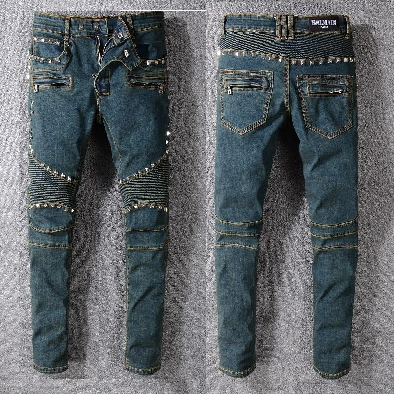 1fff649c5596d4 Designer Men's Jeans Lightweight Jeans Brand Denim Pants New Arrival ...