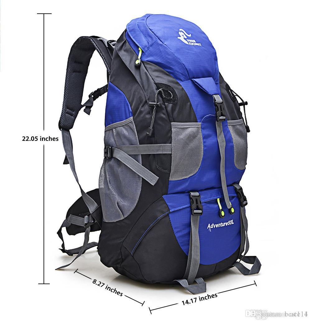Montañismo Color Libre Mochilas Al Bolsa Molle Camping 5 Aire Freeknight 50l Senderismo Deporte Escalada Mochila De ymYb7gvI6f