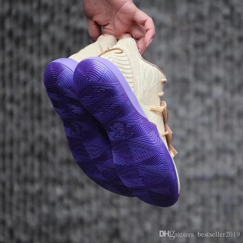 new concept 1e1f8 df340 Compre Air Nike Kyrie Irving 5 Ikhet Cielo Estrellado Mens Basketball Shoes  Conceptos X Kyrie 5S Irving Sneakers Schuhe Taco Auténticos Entrenadores ...